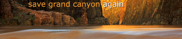 Save Grand Canyon Again